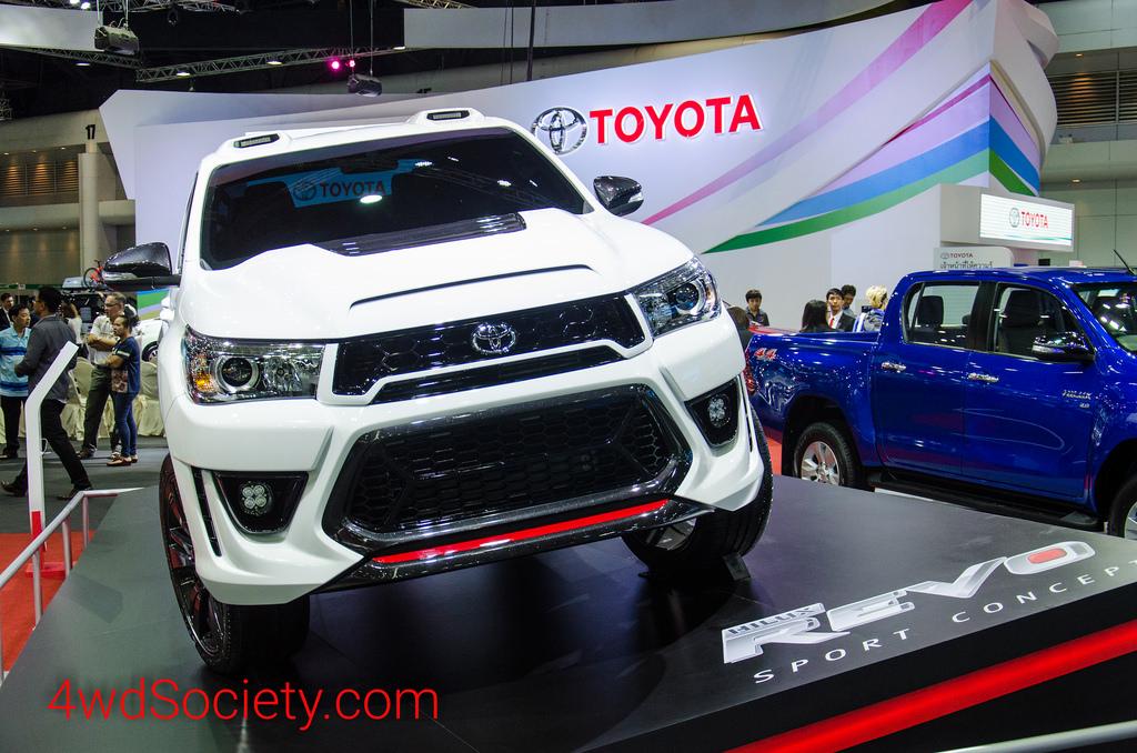Toyota Hilux Revo Sport Concept ชุดแต่งต้นแบบก่อนจะออกเวอร์ชั่น TRD Sportivo