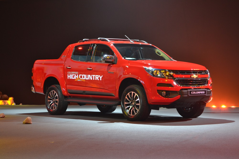 Chevrolet Colorado รถกระบะสัญชาติอเมริกัน เตรียมออกรุ่นพิเศษ High Country Storm