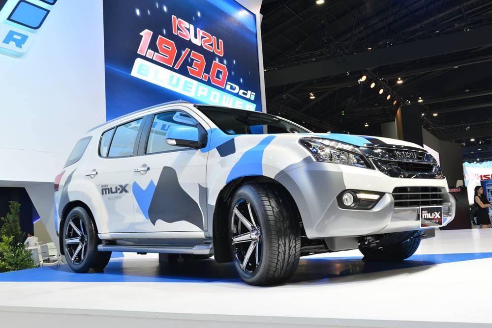Isuzu MU-X 1.9 Ddi Blue Power ราคาเริ่มต้น 1.094 ล้านบาท