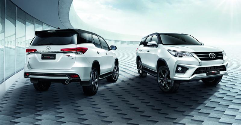 Toyota Fortuner TRD Sportivo เปิดตัวแล้ว ราคาเริ่มต้น 1.679 ล้านบาท