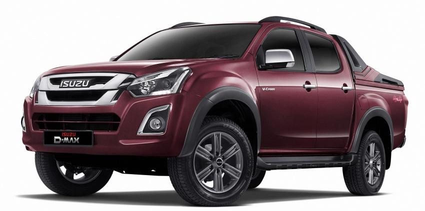 Isuzu D-Max Facelift รถกระบะโฉมใหม่ เปิดตัวแล้วที่มาเลเซีย