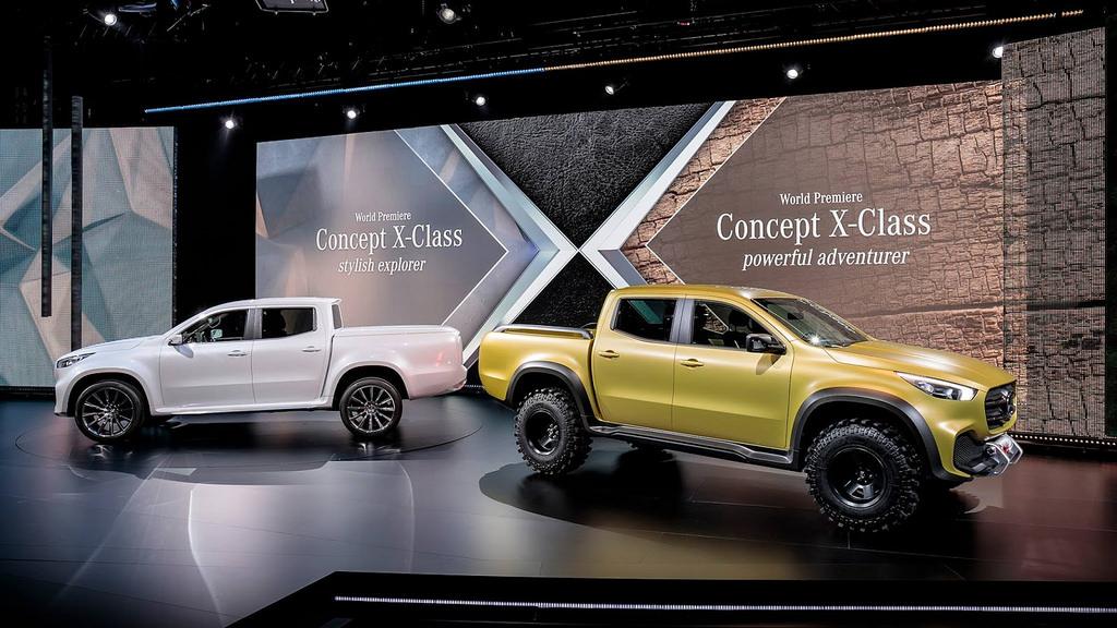 Mercedes-Benz X-Class Concepts รถกระบะพันธุ์ใหม่ ใชพื้นฐานของ Nissan Navara