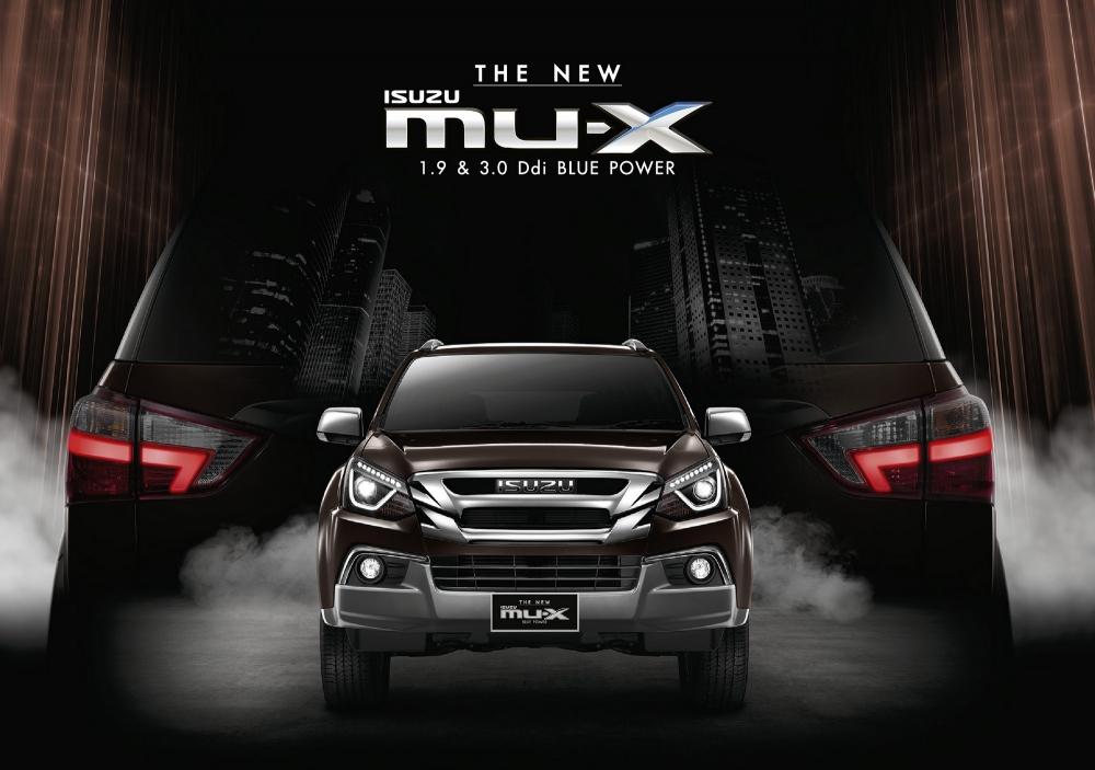 Isuzu MU-X รถยนต์อเนกประสงค์สุดหรู ปรับโฉมใหม่ ราคาเริ่มต้น 1.099 ล้านบาท
