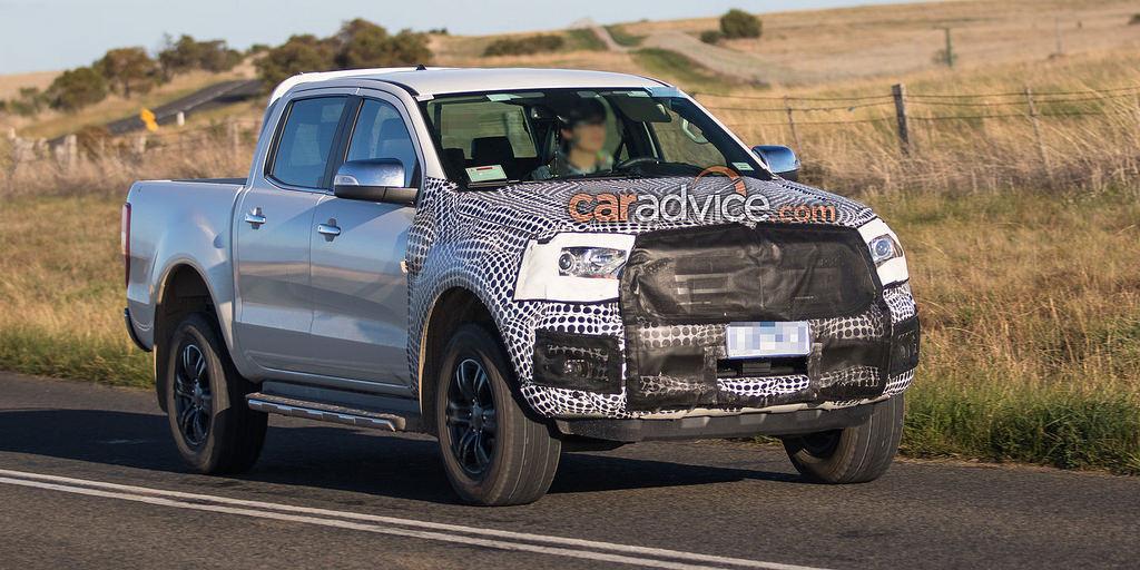 ภาพหลุด Ford Ranger และ Ford Everest โฉมใหม่ ขณะวิ่งทดสอบที่ออสเตรเลีย
