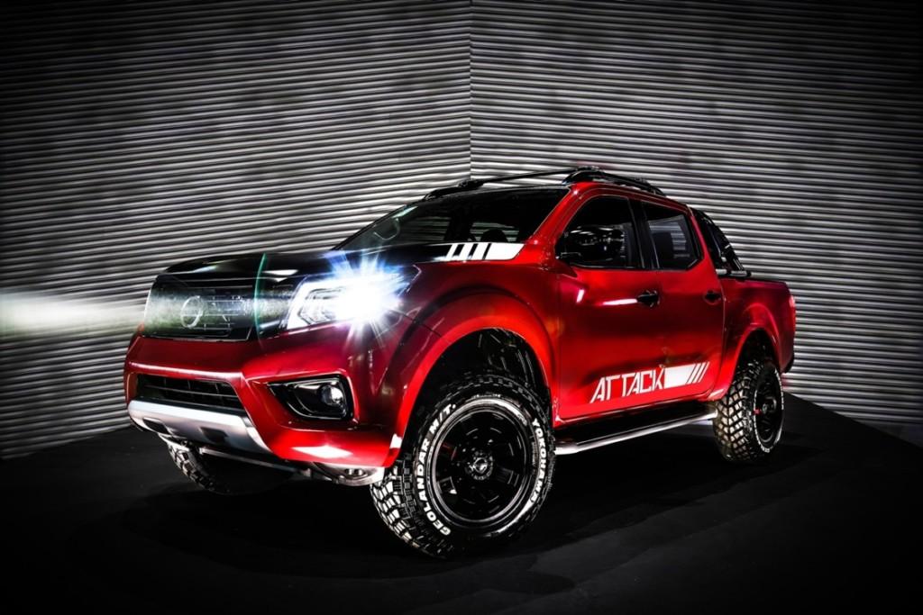 Nissan Frontier Attack Concept รถกระบะออฟโรดตัวต้นแบบ จากค่ายนิสสัน