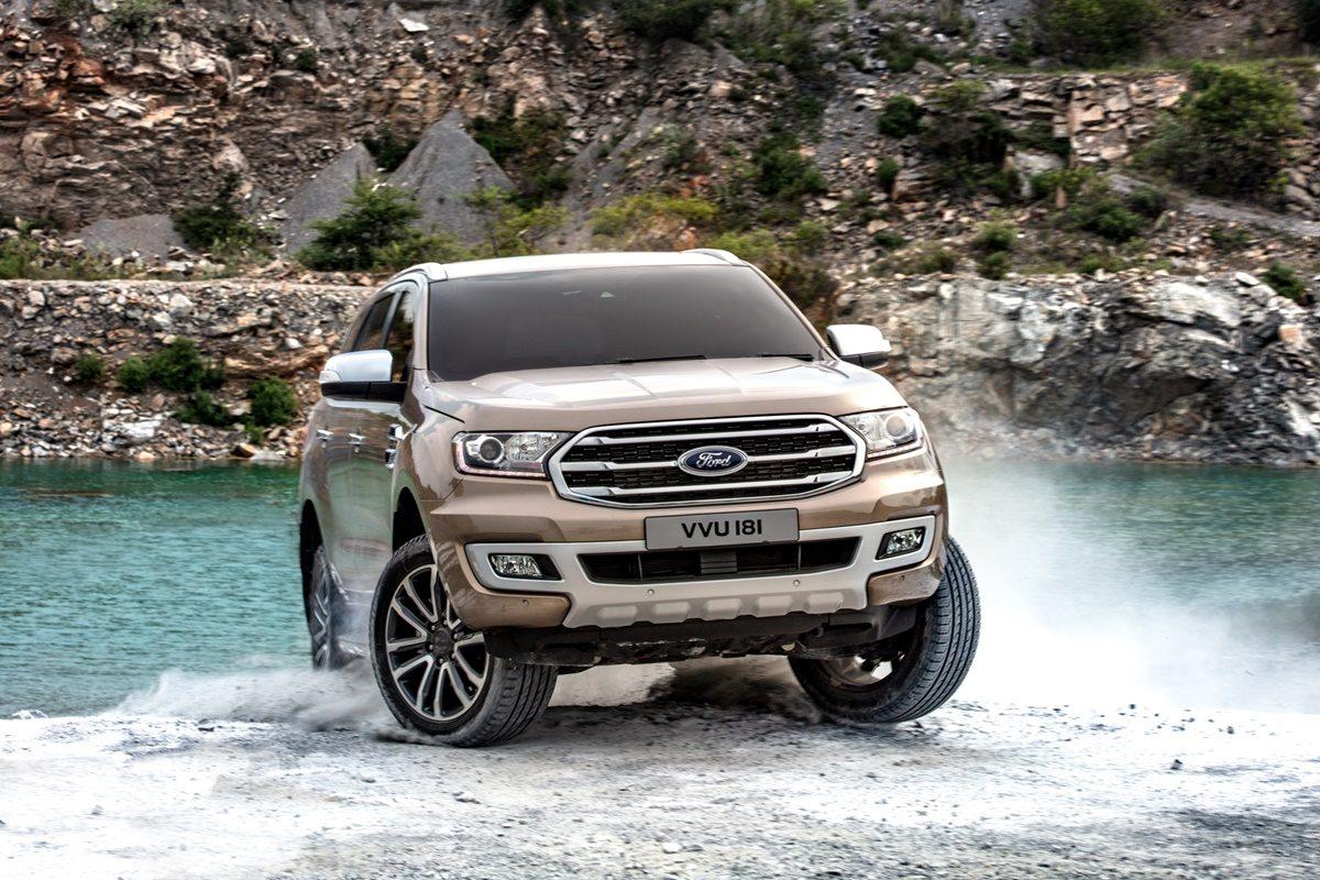 Ford Everest 2018 ขุมพลังใหม่ดีเซลไบเทอร์โบ ราคาเริ่มต้น 1.299 ล้านบาท